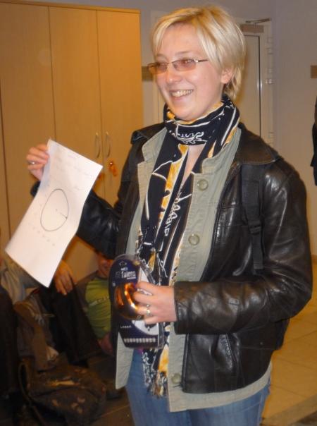 Olga Jackowska I miejsce